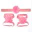 Toddler Newborn Infant Baby Girls Hairband Barefoot Sandals Foot Flower Headband