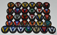 """HOCKEY PUCKS ALL 31 NHL TEAMS Complete Set """"Stitch"""" Logo Puck Lot NEW with Vegas"""