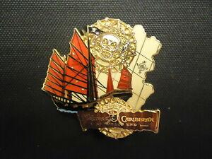 Disney Pirates of the Caribbean Empress Ship LE100 Pin