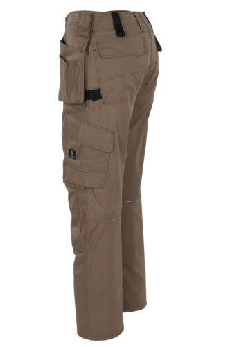 Mascot Ronda Craftsmens Mens Workwear Trousers Khaki Snickers Direct