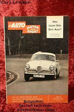 AMS Auto Motor Sport 5/59 Alfa Giulietta Sprint Dauphine