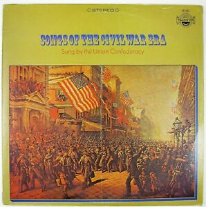 UNION-CONFEDERACY-Songs-Of-The-Civil-War-Era-LP-NM-NM
