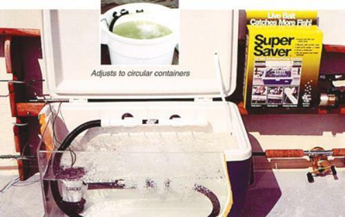 Marine Metal SS212 Aeration System 12 V Dc With Bilge Pump And Kit