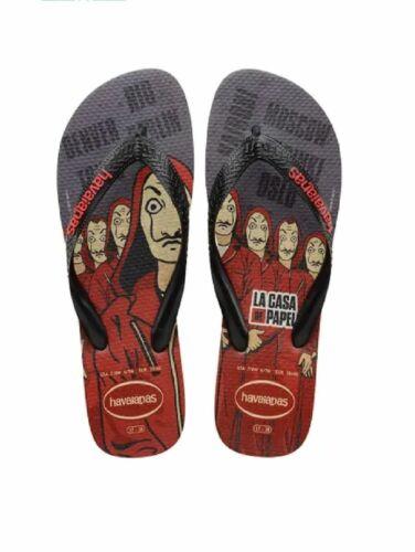 Havaianas Tongues Homme Flip Flop Summer Shoe Top Netflix Sand Grey