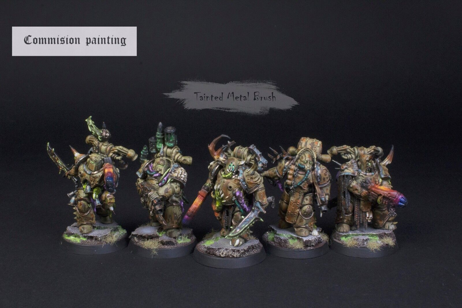 Warhammer 40000 Death guard COMMISION painting