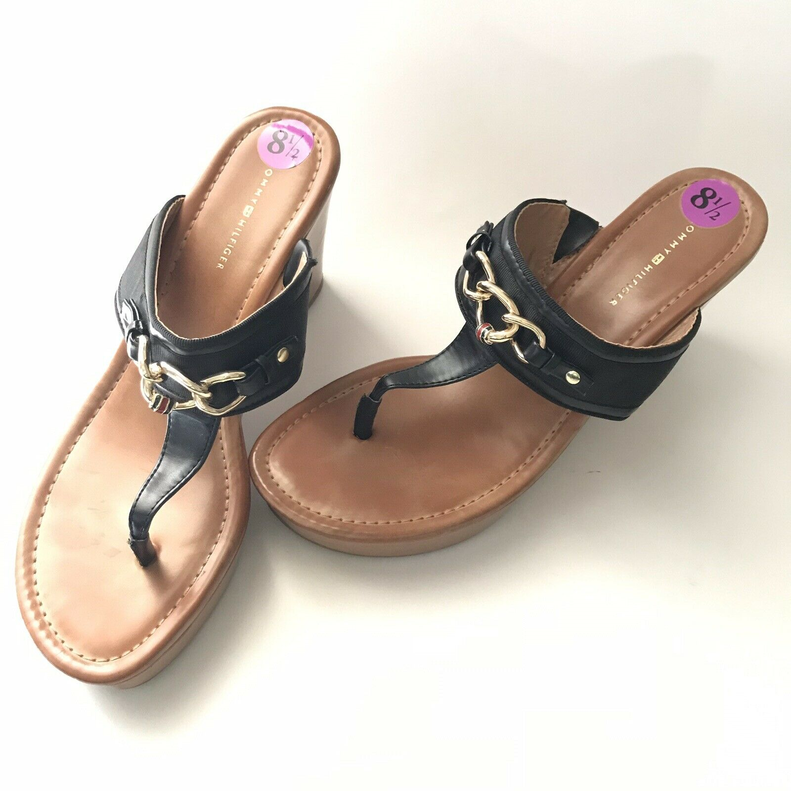 tommy hilfiger Womens Sandal Size 8.5M Melane Tho… - image 8