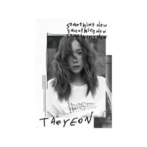 TAEYEON-Something-New-3rd-Mini-Album-CD-Poster-Booklet-PhotoCard-KPOP