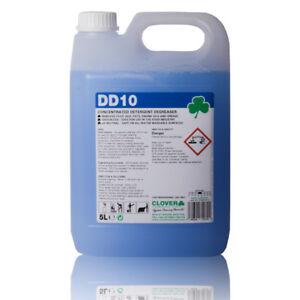 Details about Food Safe Concentrated Degreaser Detergent Cleaner Remove Oil  5L Makes Upto 500L