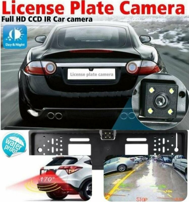 Number Plate Holder with Reverse Camera
