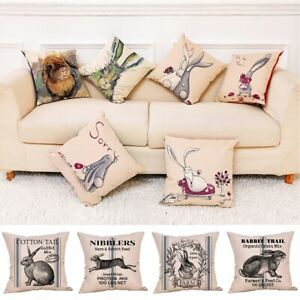 Spring Easter Pillow Covers Cases
