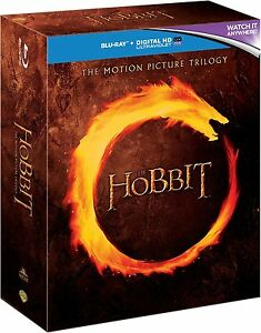 The Hobbit Trilogy (Blu-ray, 6 Discs, Region Free) *BRAND NEW/SEALED*