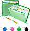 thumbnail 1 - Uquelic 13 Pockets Expanding File Folder, Clear Vinyl Zipper Bags/Wallet Plastic