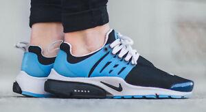 b028f6119c87 Nike Air Presto Blck Zen Grey Harbour Blue Unisex Trainer All Sizes ...