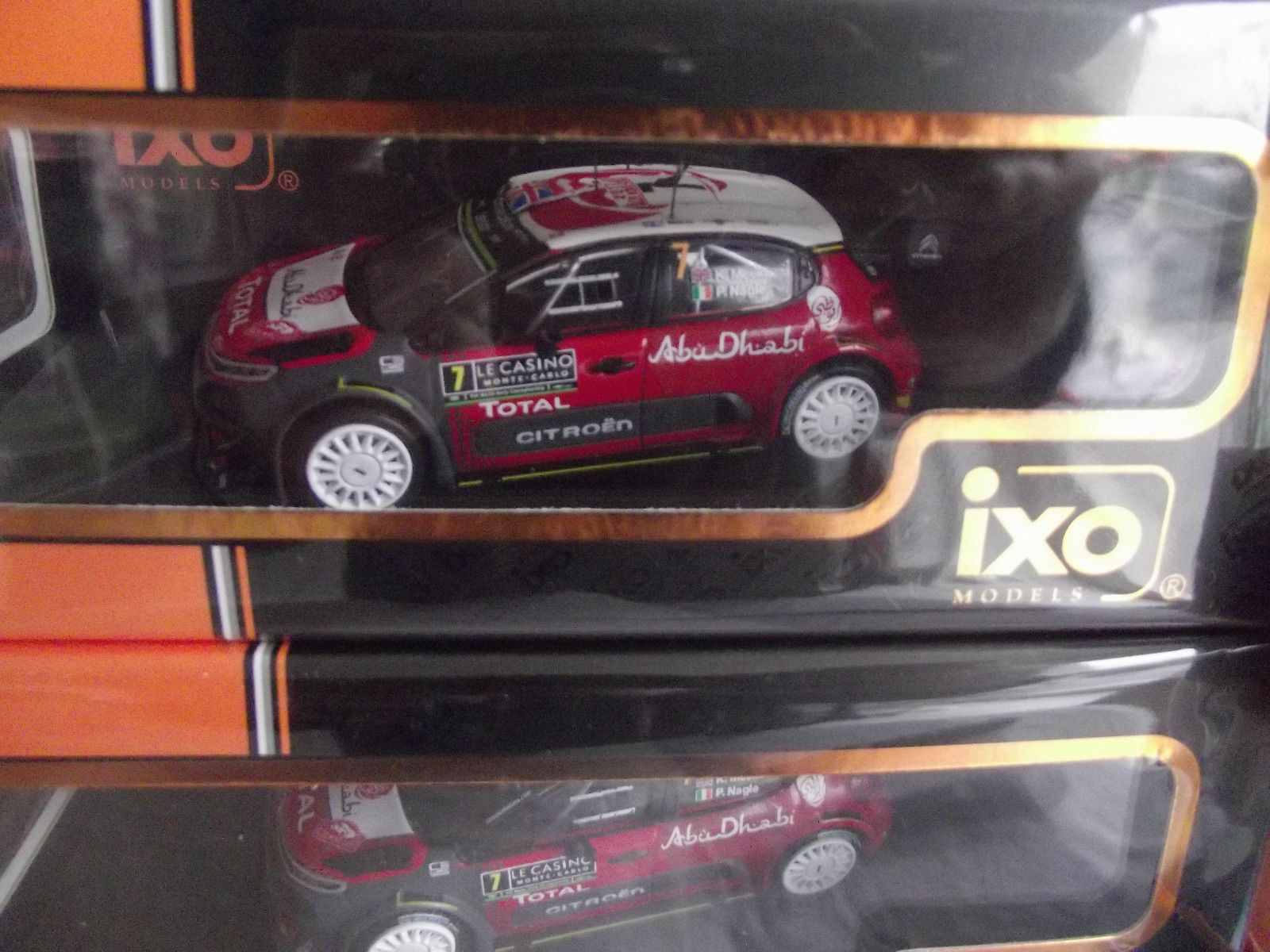 Citroen C3 WRC Monte Cochelo 2017 Meeke IXORAM638 1 43