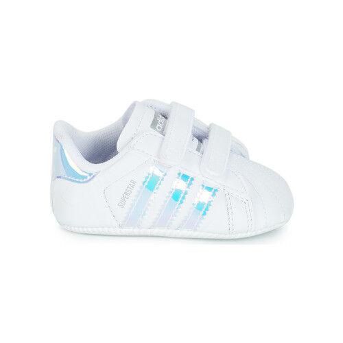 Scarpe Da Ginnastica Bambino ADIDAS ORIGINALS SUPERSTAR CRIB Bianco Baby Sneaker