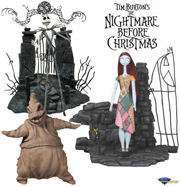 Nightmare before Christmas Figure Diamond Select Tim BURTON'S Jack Oogie 7 7