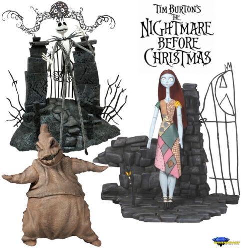 NIGHTMARE BEFORE CHRISTMAS FIGURE DIAMOND SELECT TIM BURTON/'S JACK OOGIE 20 CM