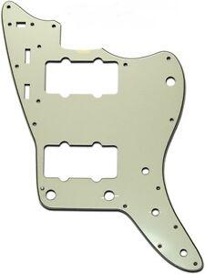 NEW-Jazzmaster-Pickguard-Vintage-Mint-Green-3-Ply-for-USA-Fender-Guitar