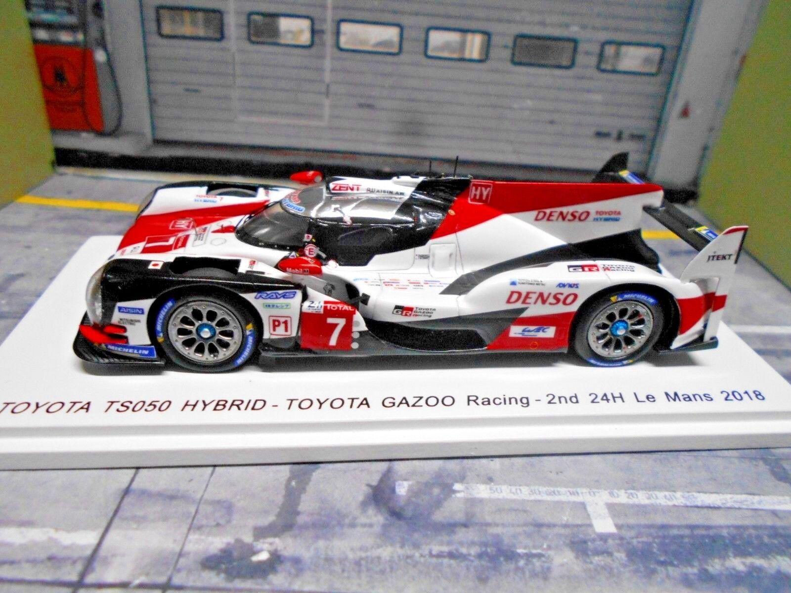 Toyota ts050 Hybride Gazoo Le Mans 2018  7 7 7 Conway Kobayashi Lopez Spark 1 43 88cc76