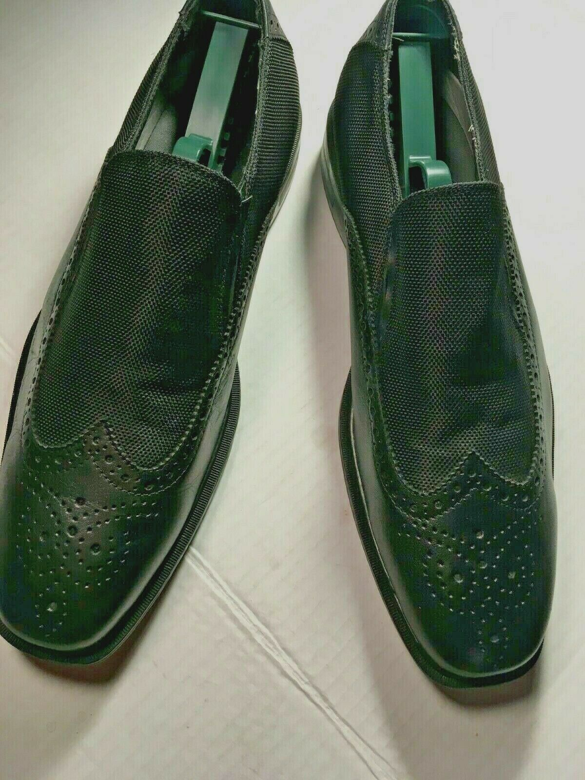 Men's New Black Loafers by Kenneth Cole Reaction size 9M Leather CasualorFormal