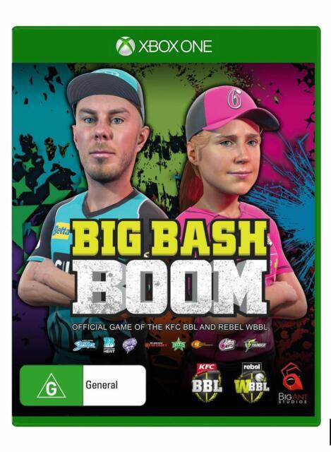Big Bash Boom XBOX One Microsoft XB1 Cricket Sports Arcade Game Party Gaming