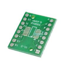 50pcs Ssop16 Sop16 Tssop16 To Dip16 065127mm Ic Adapter Pcb Board