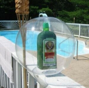 Jägermeister Inflatables Bottle in a Beach Ball - New / Sealed
