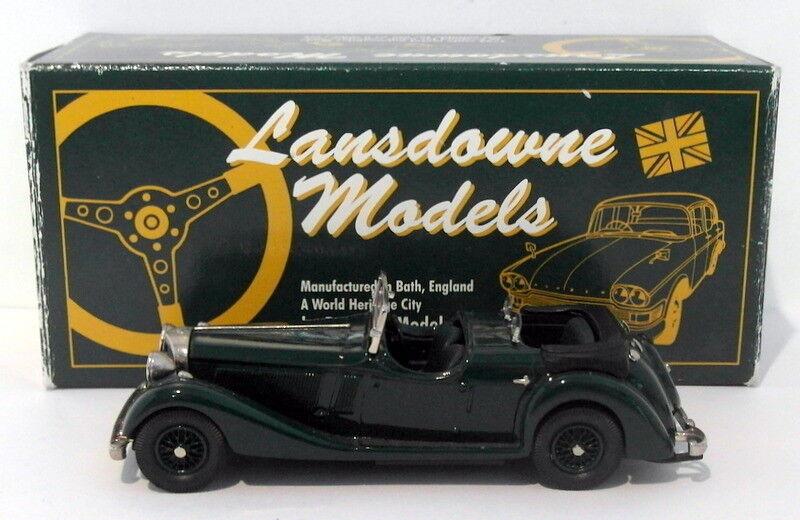 garantizado Lansdowne Models 1 43 Scale LDM27 - 1937 Jensen Jensen Jensen Dual Cowl Phaeton - verde  ahorre 60% de descuento