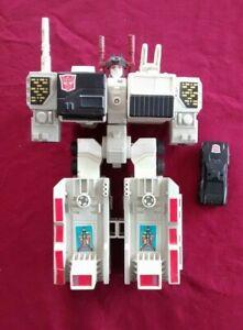 Metroplex Metro Plex Transformers G1 Figure d'action officielle originale Hasbro 1985
