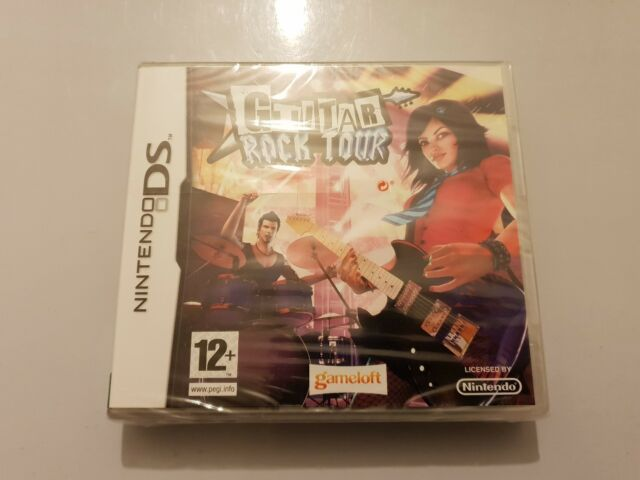 GUITAR Rock TOUR Nintendo Ds Pal UK(Ingles) NUEVO
