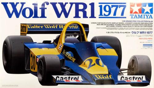 Walter Wolf Racing Wolf WR1 1977 GP 1:20 Model Kit Bausatz TAMIYA 20064