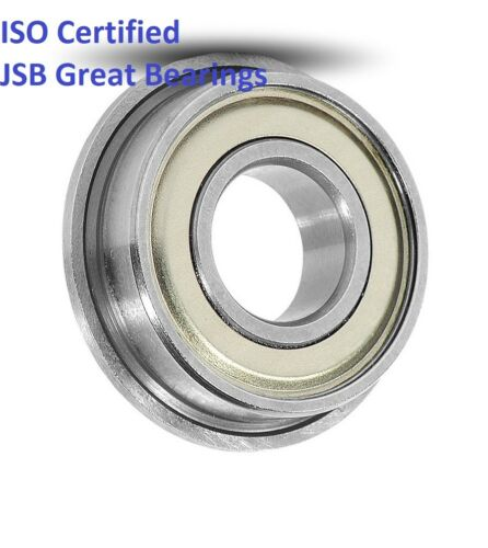 (Qty.10) Flange ball bearing F689-ZZ metal shields F689ZZ miniature F689 ZZ