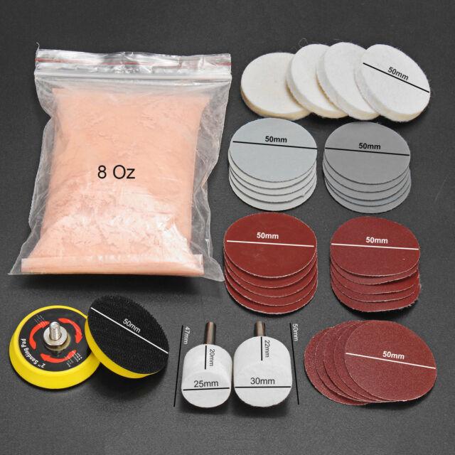 8 Oz Cerium Oxide Glass Polishing Compound
