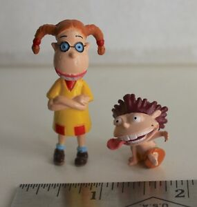 Details about 2 NICKELODEON CARTOON SHOW FIGURES - The Wild Thornberrys  Eliza Donnie - 1 1/2