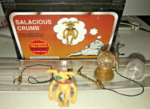 KENNER-1983-STAR-WARS-SALACIOUS-CRUMB-and-HOOKAH-PIPE-JABBA-PLAYSET-SEALED-BAGS