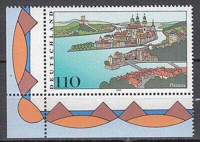 Brd 2000 Mi. Nr. 2103 Mit Eckrand Postfrisch Luxus!!! (31270) Unterscheidungskraft FüR Seine Traditionellen Eigenschaften