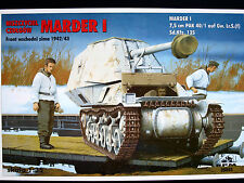 GERMAN TANK DESTROYER MARDER I, RPM SCALE 1/35