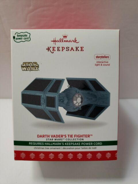 2017 Hallmark Keepsake Ornament Star Wars Darth Vader/'s Tie Fighter Storytellers