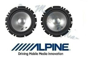 ALPINE-COPPIA-WOOFER-165mm-CASSE-DEL-KIT-SXE-1750S-ALTOPARLANTI-AUTO