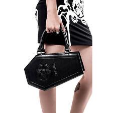 Killstar Gothic Okkult Handtasche Tasche - Sarg Coffin Pentagramm Kimmi Kurses