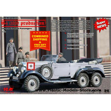 ICM 35531 - 1/35 - G4 (1939 Production) W31, German Car with passengers