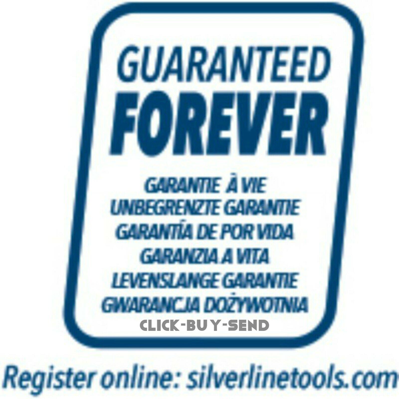"675314 Silverline 1//4/"" Socket Storage Rail Set 2pce Mechanical Engineering"