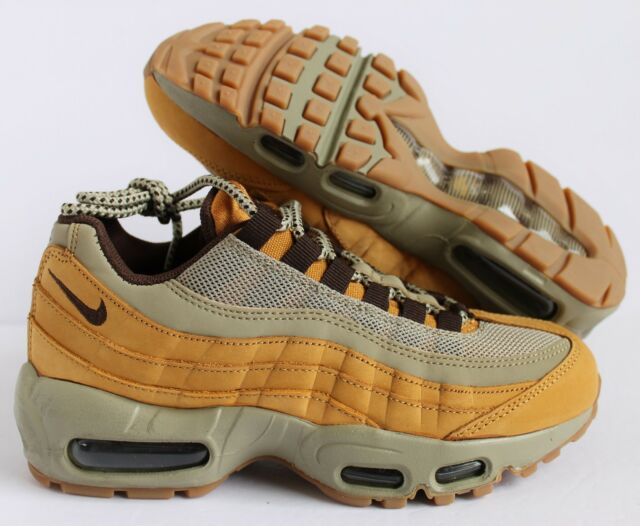 online store 4a8c2 7fe10 NIKE WMNS AIR MAX 95 WINTER BRONZE-BAROQUE BROWN-BAMBOO SZ 6  880303