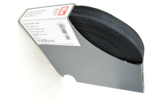 Elastisches Schrägband Schwarz von Prym 25 m 906 700