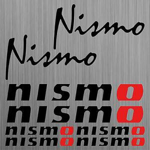 nismo-aufkleber-sticker-decal-car-set-8-Stucke-Pieces