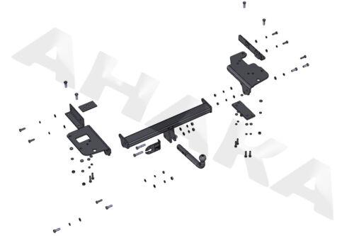 E-satz -/> komplett 04-10 Typ JE Anhängerkupplung AHK /& ES13 KIA Sportage Bj