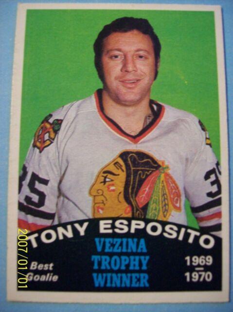1970-71 O-Pee-Chee # 250 Tony Esposito