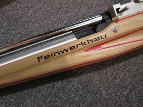 name in Silver Feinwerkbau Dry transfer Logo