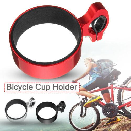 Motorcycle Bicycle Bike Water Cup Holder Coffee Drinks Bottle Handlebar Stent