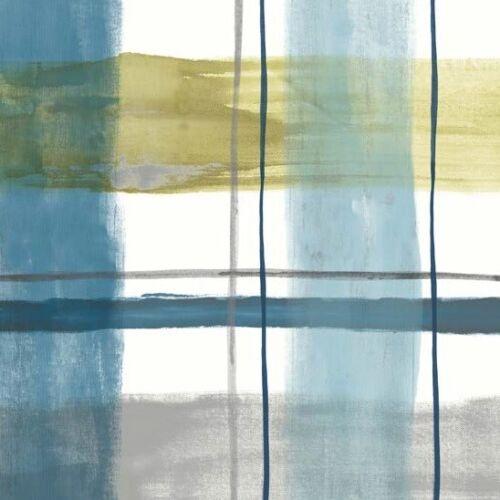 Wachstuch Tischdecke abwaschbar M19366 Trendline kariert aquarell geprägt